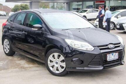 2011 Ford Focus Black Manual Hatchback