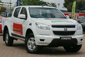 2015 Holden Colorado RG MY16 LS (4x4) White 6 Speed Automatic Crewcab Zetland Inner Sydney Preview