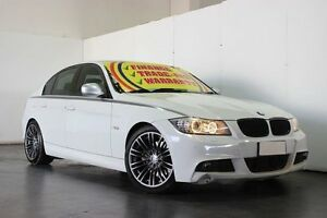 2012 BMW 330D E90 MY11 Exclusive White 6 Speed Steptronic Sedan Underwood Logan Area Preview