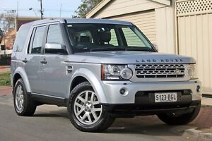 2011 Land Rover Discovery 4 Series 4 MY11 TdV6 CommandShift Silver 6 Speed Sports Automatic Wagon Glenelg Holdfast Bay Preview