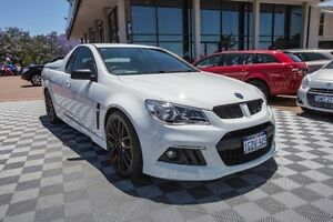 2014 Holden Special Vehicles Maloo GEN-F MY15 R8 White 6 Speed Manual Utility Alfred Cove Melville Area Preview