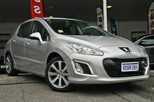 2013 Peugeot 308 T7 MY13 Active Grey 6 Speed Sports Automatic Hatchback Myaree Melville Area Preview