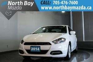 2014 Dodge Dart SXT with Manual Transmission, Bluetooth, Auto He