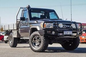 2011 Toyota Landcruiser VDJ79R MY10 GXL Grey 5 Speed Manual Cab Chassis Morley Bayswater Area Preview