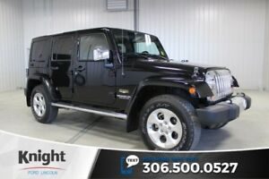 2013 Jeep Wrangler Unlimited Sahara Navigation