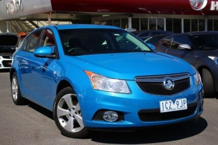 2014 Holden Cruze JH Series II MY14 Equipe Blue 6 Speed Sports Automatic Hatchback Seaford Frankston Area Preview