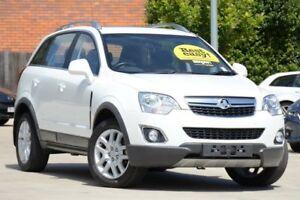 2013 Holden Captiva CG MY13 5 LT White 6 Speed Sports Automatic Wagon Toowoomba Toowoomba City Preview