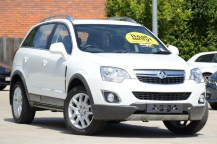 2013 Holden Captiva CG MY13 5 LT White 6 Speed Sports Automatic Wagon Toowoomba Toowoomba City Preview