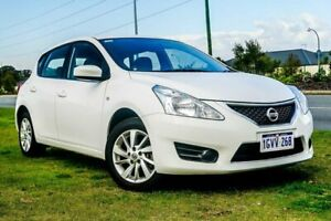 2016 Nissan Pulsar C12 Series 2 ST White 1 Speed Constant Variable Hatchback Wangara Wanneroo Area Preview