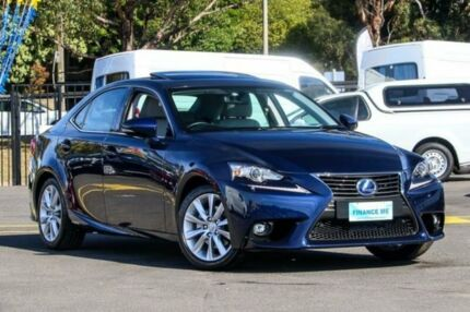 2014 Lexus IS300H AVE30R Luxury Lapis Lazuli Constant Variable Sedan