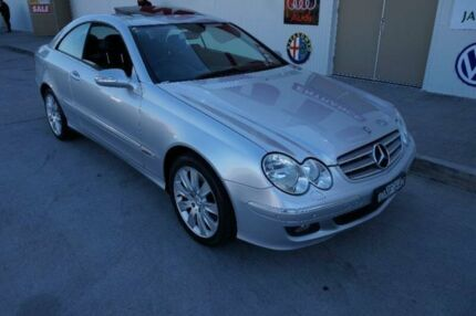 2008 Mercedes-Benz CLK280 C209 Elegance Silver 7 Speed Automatic Coupe Milperra Bankstown Area Preview