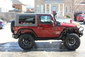 2008 Jeep Wrangler Sahara Coupe (2 door)