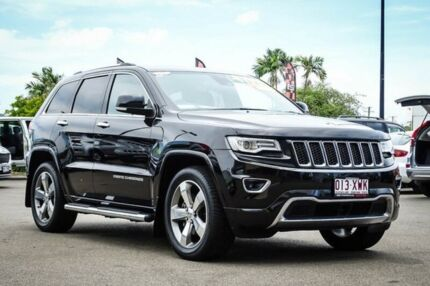 2013 Jeep Grand Cherokee WK MY2014 Overland Brilliant Black Crystal Pearl 8 Speed Sports Automatic