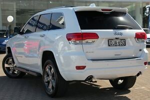 2015 Jeep Grand Cherokee WK MY15 Overland (4x4) White 8 Speed Automatic Wagon Zetland Inner Sydney Preview