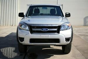2011 Ford Ranger PK XL Super Cab Hi-Rider Silver 5 Speed Manual Cab Chassis Seaford Frankston Area Preview