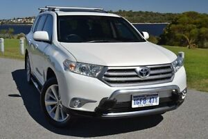 2013 Toyota Kluger GSU45R MY12 Grande AWD Crystal Pearl 5 Speed Sports Automatic Wagon Claremont Nedlands Area Preview