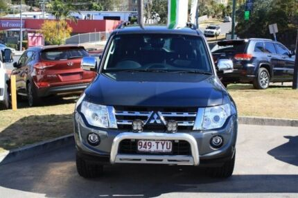 2014 Mitsubishi Pajero NW MY14 Exceed Grey 5 Speed Sports Automatic Wagon