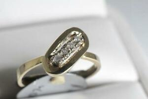BRAND NEW WITH RECEIPT 14K GOLD & DIAMOND RING FOR 70% OFF