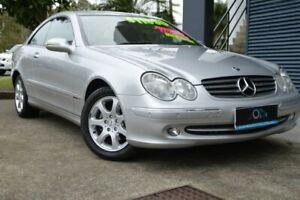 2005 Mercedes-Benz CLK200 Kompressor C209 Avantgarde Silver 5 Speed Automatic Coupe Ashmore Gold Coast City Preview