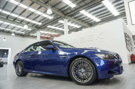 2013 BMW M3 E92 MY13 Blue 7 Speed Auto Direct Shift Coupe Port Melbourne Port Phillip Preview