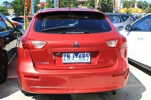 2013 Mitsubishi Lancer CJ MY14 ES Sportback Red 6 Speed Constant Variable Hatchback Berwick Casey Area Preview