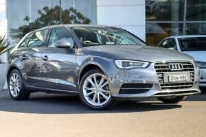 2016 Audi A3 8V MY16 Attraction Sportback S Tronic Grey 7 Speed Sports Automatic Dual Clutch Kirrawee Sutherland Area Preview