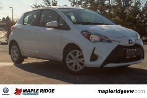 2018 Toyota Yaris Hatchback LE ONE OWNER, NO ACCIDENTS, BC CAR!