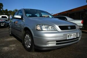 2001 Holden Astra TS CD Silver 4 Speed Automatic Sedan Blair Athol Port Adelaide Area Preview