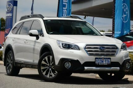 2015 Subaru Outback B6A MY15 3.6R CVT AWD Crystal White 6 Speed Constant Variable Wagon Willagee Melville Area Preview