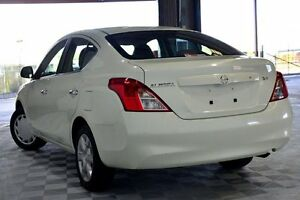 2013 Nissan Almera N17 ST White 5 Speed Manual Sedan Coopers Plains Brisbane South West Preview