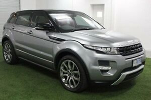 2012 Land Rover Range Rover Evoque L538 MY12 SD4 CommandShift Dynamic Grey 6 Speed Sports Automatic Moonah Glenorchy Area Preview