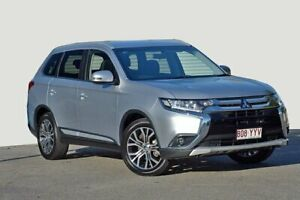 2017 Mitsubishi Outlander ZK MY17 LS 2WD Silver 6 Speed Constant Variable Wagon Kedron Brisbane North East Preview