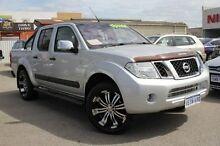 2011 Nissan Navara D40 S6 MY12 ST-X 550 Silver 7 Speed Sports Automatic Utility Hillman Rockingham Area Preview