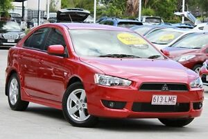 2008 Mitsubishi Lancer CJ MY09 VR Sportback Red/Black 5 Speed Manual Hatchback Toowong Brisbane North West Preview
