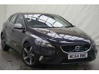 2014 Volvo V40 1.6 D2 R-DESIGN 5d 113 BHP Diesel black Manual