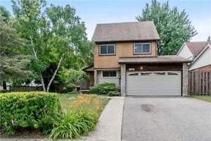Fully Detached 2 Storey Meadowvale Home W/ 4 Bdrm