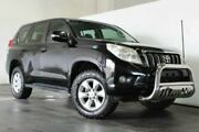 2010 Toyota Landcruiser Prado KDJ150R GXL Black Semi Auto Wagon Underwood Logan Area Preview