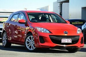 2011 Mazda 3 BL10F1 MY10 Neo Activematic Red 5 Speed Sports Automatic Hatchback Springwood Logan Area Preview