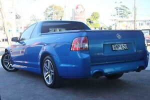 2011 Holden Ute VE II SV6 Blue 6 Speed Sports Automatic Utility Waitara Hornsby Area Preview