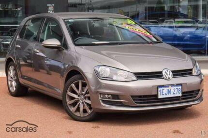 2013 Volkswagen Golf VII 110TDI DSG Highline 6 Speed Sports Automatic Dual Clutch Hatchback