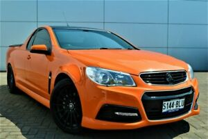 2014 Holden Ute VF MY14 SV6 Ute Orange 6 Speed Manual Utility