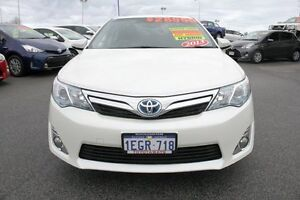 2013 Toyota Camry AVV50R Hybrid HL Pearl White 1 Speed Constant Variable Sedan Hillman Rockingham Area Preview