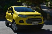 2014 Ford Ecosport BK Trend PwrShift Yellow 6 Speed Sports Automatic Dual Clutch Wagon St Marys Mitcham Area Preview