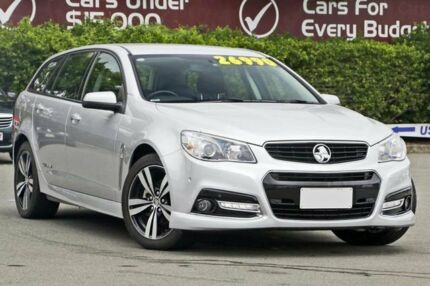 2015 Holden Commodore VF MY15 SV6 Sportwagon Storm Silver 6 Speed Sports Automatic Wagon Mount Gravatt Brisbane South East Preview