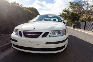 2006 Saab 9-3 440 MY2006 Linear Luxury Sports White 5 Speed Manual Sedan Hove Holdfast Bay Preview