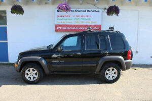 2003 Jeep Liberty SPORT SUV, Crossover warranty included