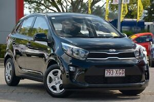 2017 Kia Picanto JA MY18 S Aurora Black 4 Speed Automatic Hatchback Yeerongpilly Brisbane South West Preview