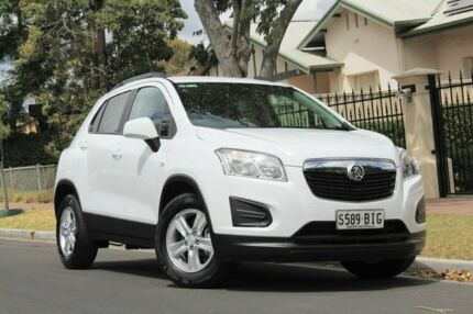 2015 Holden Trax TJ MY15 LS White 6 Speed Automatic Wagon Nailsworth Prospect Area Preview