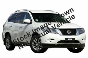 2016 Nissan Pathfinder R52 MY16 ST X-tronic 4WD White 1 Speed Constant Variable Wagon Preston Darebin Area Preview