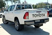 2016 Toyota Hilux GUN126R SR Double Cab White 6 Speed Manual Utility Castle Hill The Hills District Preview
